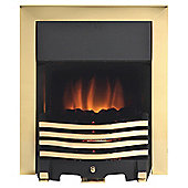 Royal Cozyfire electric fire - Modern Brass