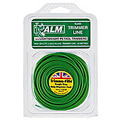 ALM Trimmer Line for all lightweight petrol grass trimmers - 2.0mm x 20m, 2 pack