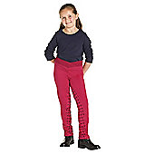 Harry Hall Child's Brockley Jodhpurs Rasberry 24