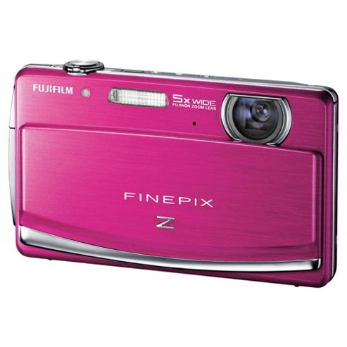 Fuji FinePix Z90 Digital Camera, Pink, 14.2MP, 5x Optical Zoom, 3.0 inch LCD Screen