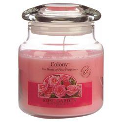 Colony Rose Garden Medium Candle Jar