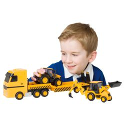 JCB Transporter & Vehicles Construction Toy