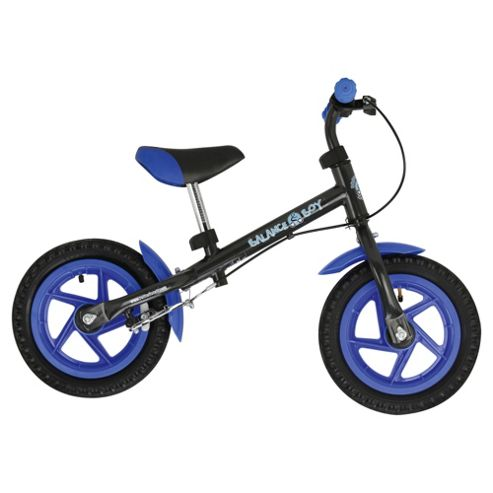 Hudora blue & black balance bike