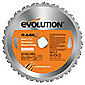 Evolution RAGE 210mm Multipurpose TCT Blade (Orange)