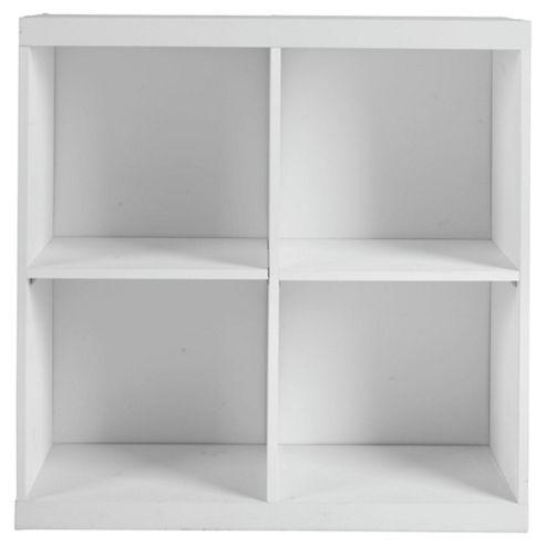 Seattle Kids Storage Cube, White