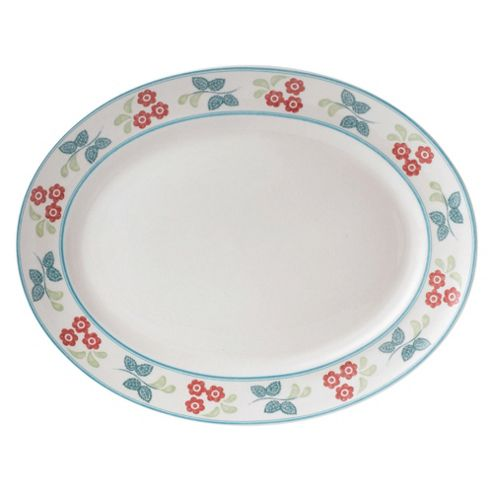 Johnson Bros 35cm Meadow Daisy Oval Platter