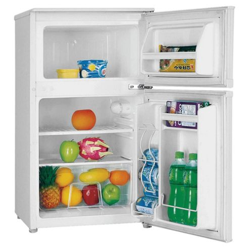 Fridgemaster MTRF88A Fridge Freezer, Energy Rating A, Width 47.4cm. White