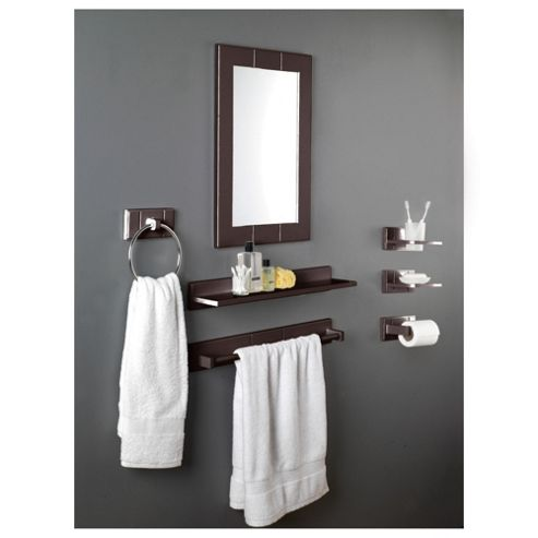 Croydex Mirror Dark Wood