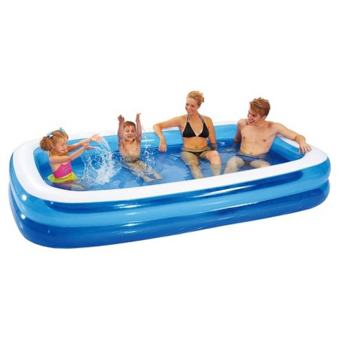 Buy tesco family paddling pool from our paddling pools for Family paddling pool