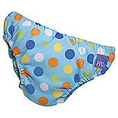 Bambino Mio Swim Nappy - Blue Spot Small