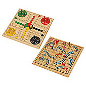 Spears Games 2 In 1 Snakes & Ladders And Ludo