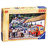 Happy Days Lynmouth 1000 Piece Jigsaw Puzzle