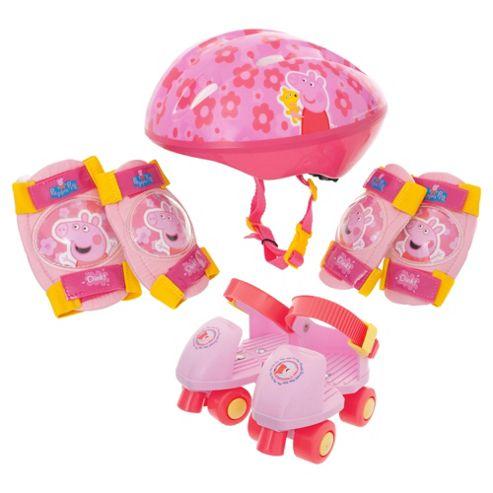 Peppa Pig Skates/Helmet/Pads Set