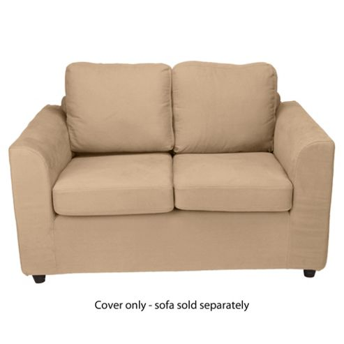 Ashley Loose Cover For Small Sofa, Sand