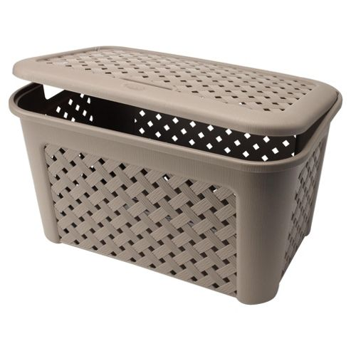buy arianna large laundry basket with lid mole from our laundry bins baskets range. Black Bedroom Furniture Sets. Home Design Ideas