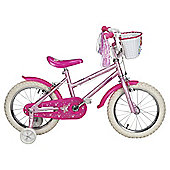 "Sparkle & Glitz 16"" Kids' Bike with Stabilisers"