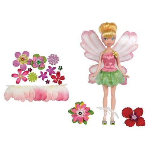 Disney Fairies Flower Petal Dress Up Fairy - Assortment – Colours & Styles May Vary