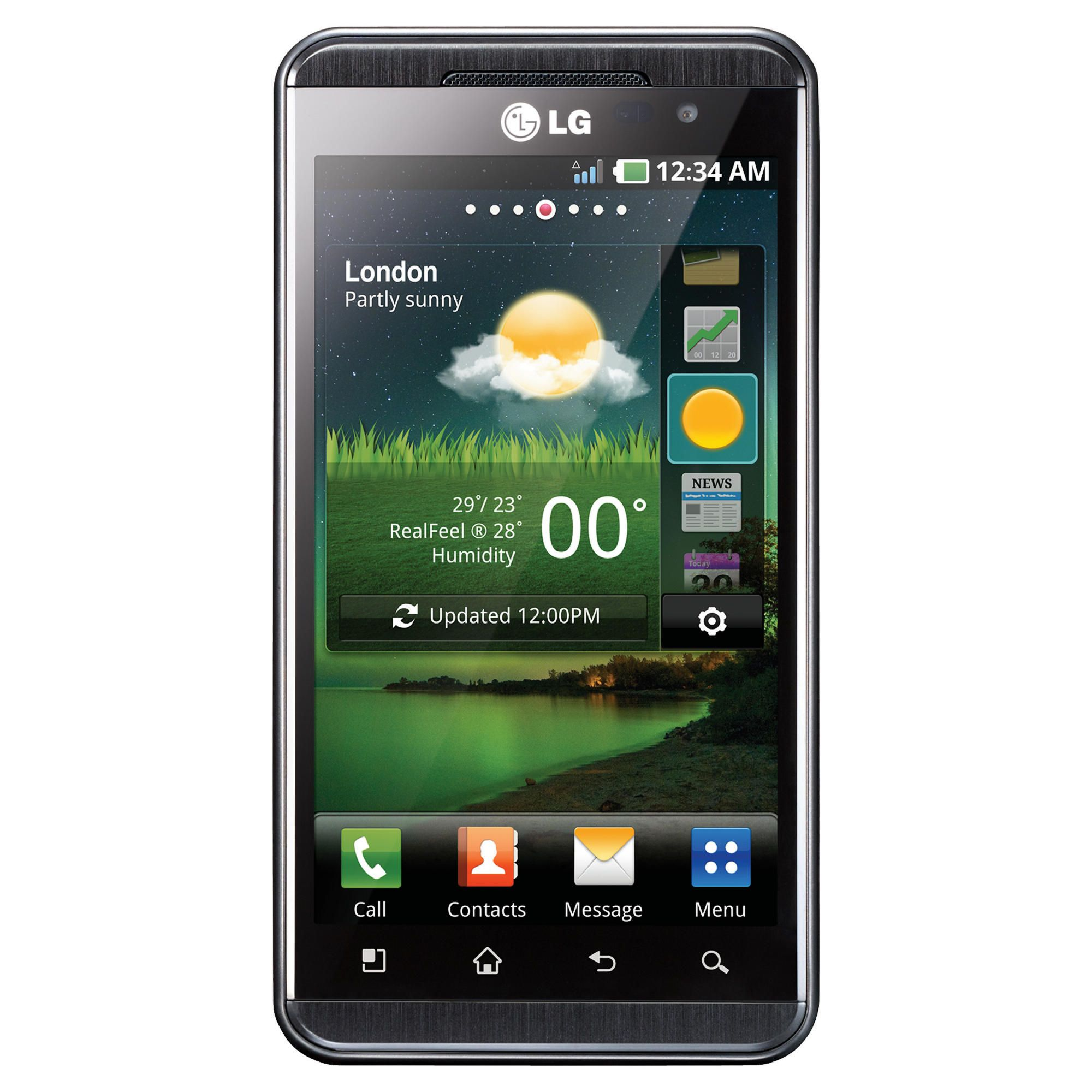 Tesco Mobile LG Optimus 3D Black at Tesco Direct