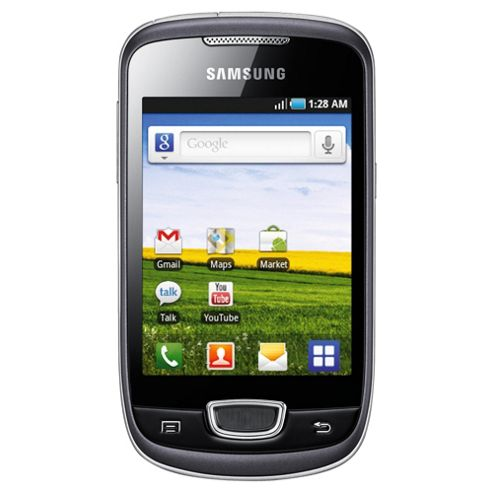 Tesco Mobile Samsung Galaxy Mini Steel Grey