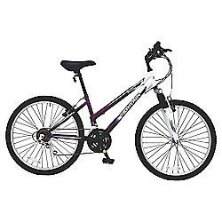 "Terrain Snowdon 24"" Kids' Front Suspension Mountain Bike"