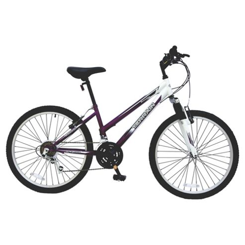 "Terrain Snowdon Front Suspension Kids 24"" Wheel Mountain Bike - Girls"