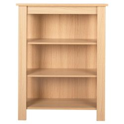 Tilson 3 Shelf Bookcase Oak Effect