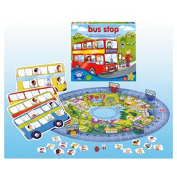 Orchard Toys Bus Stop Toys Educational Game
