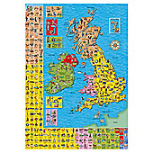 Orchard Toys Great Britain And Ireland Map Jigsaw Puzzle