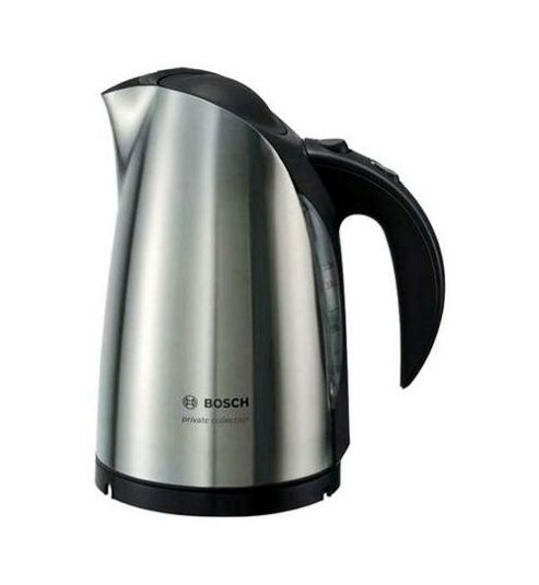 Bosch TWK6831 1.7L Cordless Jug Kettle - Brushed Stainless Steel & Black