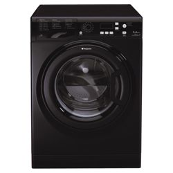 Hotpoint WMPF742K Washing Machine, 7kg Wash Load, 1400 RPM Spin, A++ Energy Rating. Black