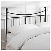 Seetall Lilly Headboard Black Double