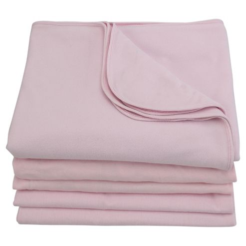 Tesco Starter Bedding Bale Cot Bed, Pink