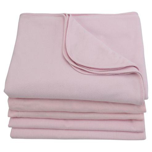 Tesco Starter Bedding Bale Cot Bed, Pink