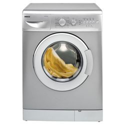 Beko WM5121S Washing Machine, 5kg Wash Load, 1200 RPM Spin, A+ Energy Rating. Silver