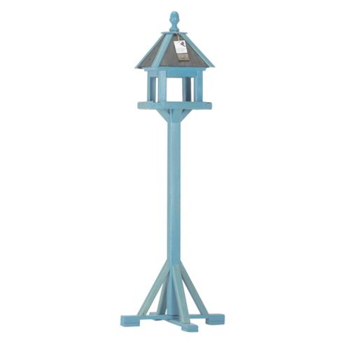Chapelwood Hunnington bird table, winter blue