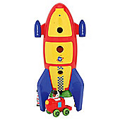 Carousel Toy Rocket
