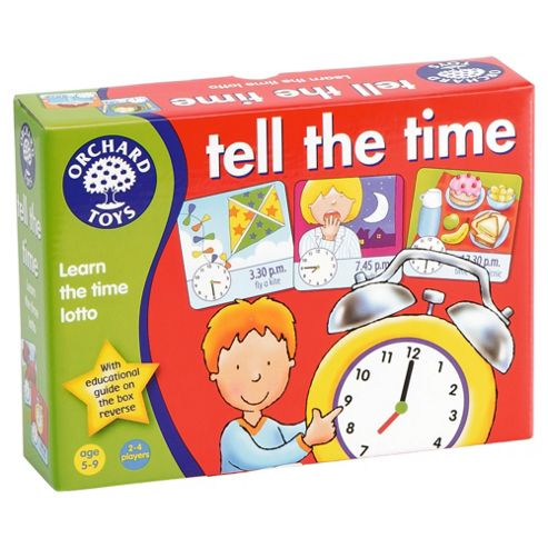 Orchard Toys Tell The Time Lotto Educational Game