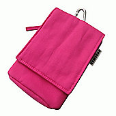 Samsung Original Fabric Bag for Universal Smartphone Devices - Pink
