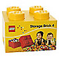 LEGO Storage Brick 4 Yellow