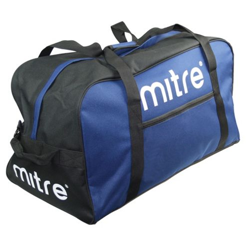 Mitre Sports Gym Kit Bag Holdall, Navy Blue