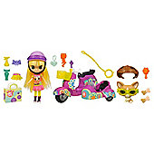 Littlest Pet Shop Scooter with Blythe & Pet