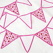 Pink Children's Bedroom Bunting