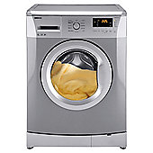 Beko WMB61431S Washing Machine, 6kg Wash Load, 1400 RPM Spin, A+ Energy Rating. Silver