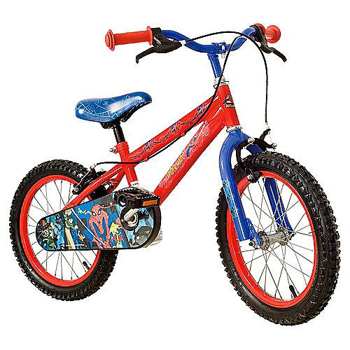 The Amazing Spider-Man Kids 16'' Wheel Bike - Boys