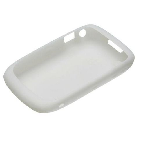 BlackBerry® Silicone Skin Case Curve 8520/9300 White