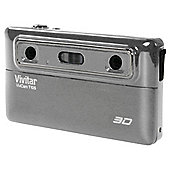 Vivitar T135 Silver 3D Camera with 4xDigital Zoom