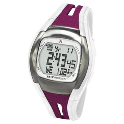Kelly Holmes Pedometer and Pulse Watch Purple