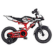 "Flight Moto-GP 12"" Kids' Bike - Boys with stabilisers"