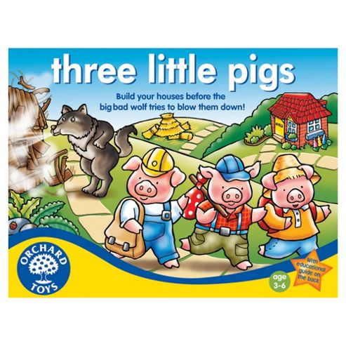 Orchard Toys Three Little Pigs Educational Game