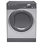 Hotpoint TVAL73CG Vented Tumble Dryer, 7kg Load, C Energy Rating. Graphite